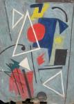 Obras de arte: America : Argentina : Cordoba : Cordoba_ciudad : Composicíon Abstracta-Ciro Campos-13