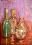 Obras de arte: Europa : España : Andalucía_Málaga : Málaga : tres botellas