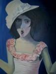 Obras de arte: Europa : España : Valencia : valencia_ciudad : Niña con sombrero