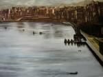 Obras de arte: Europa : España : Euskadi_Bizkaia : Bilbao : Vista Gral. Darsena de Galdames