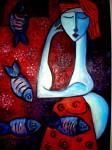 Obras de arte: Europa : España : Catalunya_Barcelona : BCN : la multiplicacion de los peces
