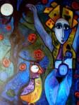 Obras de arte: Europa : España : Catalunya_Barcelona : BCN : pajaro reloj y el arbol de deseo