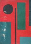 Obras de arte: America : Argentina : Cordoba : Cordoba_ciudad : Composic�on Abstracta-Ciro Campos-21
