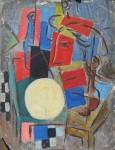 Obras de arte: America : Argentina : Cordoba : Cordoba_ciudad : Composicíon Abstracta-Ciro Campos-25