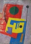 Obras de arte: America : Argentina : Cordoba : Cordoba_ciudad : Composicíon Abstracta-Ciro Campos-26