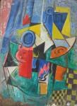 Obras de arte: America : Argentina : Cordoba : Cordoba_ciudad : Composicíon Abstracta-Ciro Campos-29