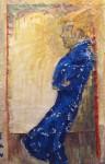 Obras de arte: Europa : España : Catalunya_Barcelona : Barcelona_ciudad : Home de blau (Hombre de azul)