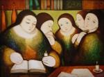 Obras de arte: America : Panamá : Veraguas : Santiago_de_Veraguas : HERMANAS II