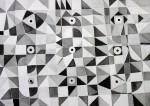 Obras de arte: Europa : Francia : Rhone-Alpes : Lyon : arte en blanco y negro