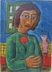 Obras de arte: America : Argentina : Cordoba : Cordoba_ciudad : Mujer-Ciro Campos-5
