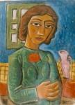 Obras de arte: America : Argentina : Cordoba : Cordoba_ciudad : Mujer-Ciro Campos-14