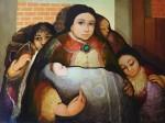 Obras de arte: America : Panamá : Veraguas : Santiago_de_Veraguas : MATERNIDAD III