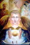 Obras de arte: America : Costa_Rica : Cartago : Asís : angeles del Genesis