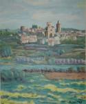Obras de arte: Europa : España : Catalunya_Barcelona : Sitges : PALS DESDE TORRENTS