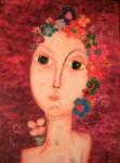 Obras de arte: America : Argentina : Buenos_Aires : La_Matanza : Rostro de Mujer I