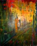 Obras de arte: America : Argentina : Cordoba : Cordoba_ciudad : ATARDECER EN CIUDAD