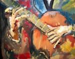 Obras de arte: America : Argentina : Cordoba : Cordoba_ciudad : GUITARRISTA