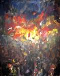 Obras de arte: America : Argentina : Cordoba : Cordoba_ciudad : PUEBLO EN MARCHA