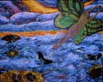 Obras de arte: America : Colombia : Antioquia : Medell�n : La Mujer Mariposa