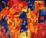 Obras de arte: America : Uruguay : Canelones : Parque_de_Carrasco : Jeroglifico IX