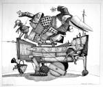 Obras de arte: America : Uruguay : Maldonado : mascaras : Yo voy, pero no sé