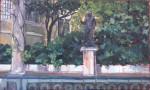 Obras de arte: Europa : España : Madrid : Madrid_ciudad : Jardines del Museo Sorolla