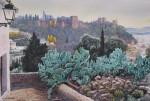 Obras de arte: Europa : España : Andalucía_Málaga : Málaga : Desde el Sacromonte