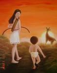 Obras de arte: America : México : Mexico_Distrito-Federal : Coyoacan : Maternidad