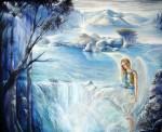 Obras de arte: America : Costa_Rica : Cartago : Asís : Angel de La Cascada