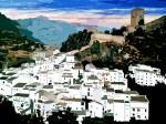 Obras de arte: Europa : España : Andalucía_Málaga : Yunquera : Panoramica de Cazorla, Jaen