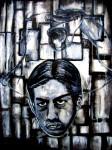 Obras de arte: America : M�xico : Chiapas : Tapachula : contorsionista cachuco