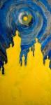 Obras de arte: Europa : Espa�a : Galicia_La_Coru�a : Santiago_de_Compostela : Multitud Masculina