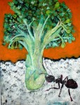 Obras de arte: America : Colombia : Atlantico : barranquilla : brocoli atacado por hormiga