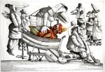 Obras de arte: America : Uruguay : Maldonado : mascaras : Paseando el pichón