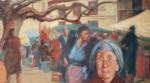 Obras de arte: Europa : España : Galicia_Pontevedra : pontevedra : mercado