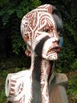 Obras de arte: America : Uruguay : Montevideo : Montevideo_ciudad : ROCKART ON MANNEQUIN