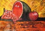 Obras de arte: America : Colombia : Atlantico : barranquilla : bodegon psicodelico