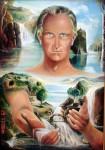 Obras de arte: America : Costa_Rica : Cartago : Asís : AUTORETRATO