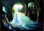 Obras de arte: America : Costa_Rica : Cartago : Asís : Gruta azul,dadiva del agua