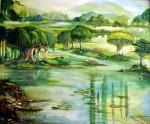 Obras de arte: America : Costa_Rica : Cartago : Asís : Humedal