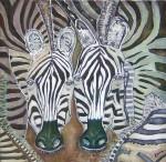 Obras de arte: America : Perú : Lima : miraflores : zebrasen