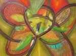 Obras de arte: America : Perú : Lima : miraflores : mariposa de colores