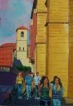 Obras de arte: Europa : España : Castilla_y_León_Burgos : Miranda_de_Ebro : El paseo