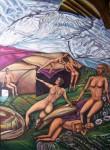 Obras de arte: America : Colombia : Cundinamarca : engativa : mira adentro