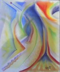 Obras de arte: America : Colombia : Distrito_Capital_de-Bogota : Bogota : Volcano