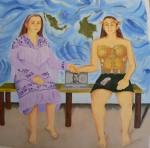Obras de arte: America : Colombia : Distrito_Capital_de-Bogota : Bogota : Las dos Olgas