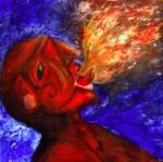 Obras de arte: America : México : Mexico_region : Nezahualcóyotl : traga fuego