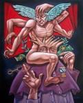 Obras de arte: America : Cuba : Ciudad_de_La_Habana : Centro_Habana : Fábula de los hipócritas