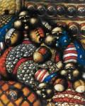 Obras de arte: America : Perú : Piura : Piura_ciudad : PORQUE TUVE HAMBRE Y  ME DISTEIS DE COMER
