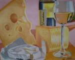 Obras de arte: Europa : España : Euskadi_Álava : Vitoria : Queso y vino